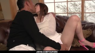 Top Japanese porn on the couch with Miku Ohashi - More at javhd ...